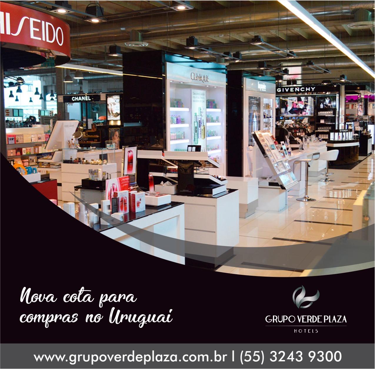 Aumenta cota para compras no Uruguai